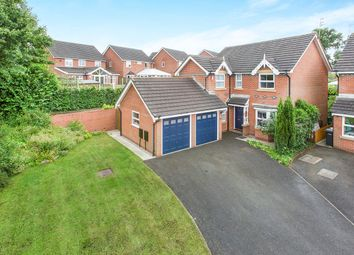Thumbnail 4 bed detached house for sale in Kestrel Close, Congleton