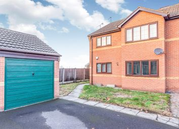 Thumbnail 2 bedroom flat for sale in Whitehouse Court, Bircotes, Doncaster