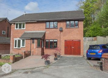 Thumbnail 4 bed semi-detached house for sale in Riverside Drive, Radcliffe, Manchester, Lancashire