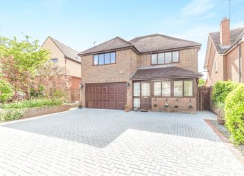Thumbnail 4 bed detached house for sale in Halstead Road, Gosfield, Halstead