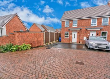 Thumbnail 2 bed semi-detached house for sale in Freeman Drive, Hednesford, Cannock