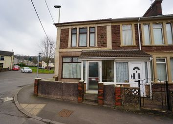 Thumbnail 2 bed end terrace house for sale in Mill Street, Risca