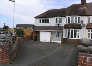 Thumbnail 3 bed semi-detached house for sale in Hilston Avenue, Halesowen