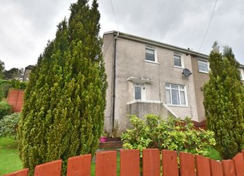 Thumbnail 2 bed end terrace house for sale in Braeside Lane, Greenock