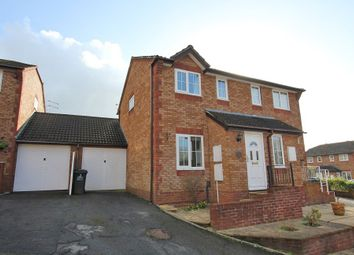 Thumbnail 3 bed semi-detached house for sale in Yew Tree Drive, Kingsteignton, Newton Abbot