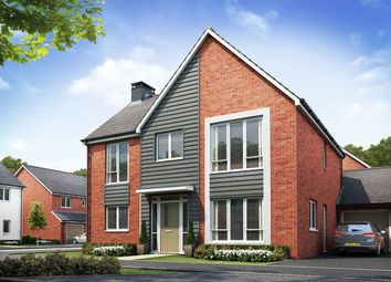 Thumbnail 4 bed detached house for sale in Burton Road, Castle Gresley, Swadlincote