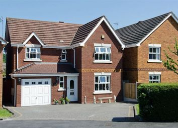 Thumbnail 4 bed detached house for sale in Watermint Close, Hednesford, Cannock