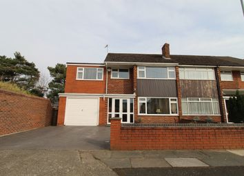 Thumbnail 4 bed semi-detached house for sale in Grinton Crescent, Huyton, Liverpool