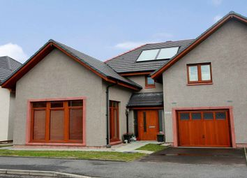 Thumbnail 3 bed semi-detached house for sale in Stuart Crescent, Kemnay, Inverurie, Aberdeenshire