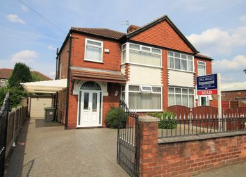 Thumbnail 3 bedroom semi-detached house to rent in Barton Road, Stretford