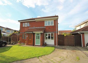 Thumbnail 2 bed semi-detached house for sale in Aspendale Close, Longton, Preston