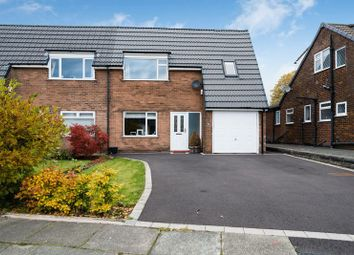 Thumbnail 4 bed semi-detached house for sale in Rutherford Drive, Over Hulton, Bolton, Lancashire.