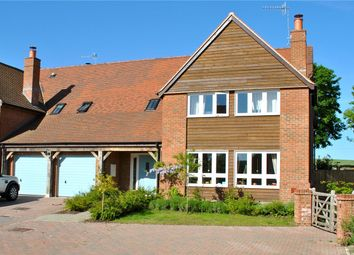 Thumbnail 5 bed semi-detached house for sale in The Old Barnyard, Pewsey Road, Rushall, Wiltshire