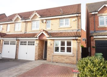 Thumbnail 3 bed semi-detached house for sale in The Brambles, Whitley Bay