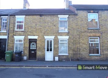 Thumbnail 3 bedroom terraced house for sale in Vergette Street, Peterborough, Cambridgeshire.