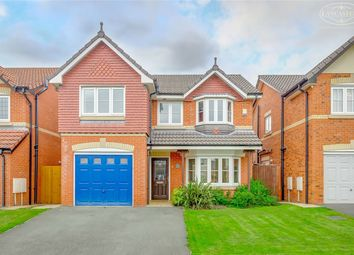 Thumbnail 4 bed detached house for sale in Raleigh Close, Horwich, Bolton