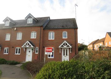Thumbnail 3 bed terraced house to rent in The Marish, Chase Meadow Square, Warwick
