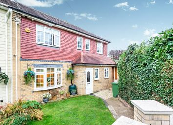 Thumbnail 4 bed end terrace house for sale in Daventry Gardens, Romford