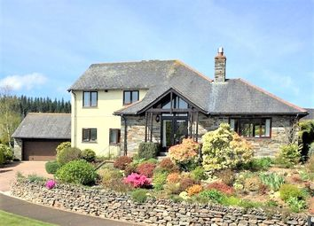 Thumbnail 4 bed detached house for sale in Keason Hill, St. Mellion, Saltash