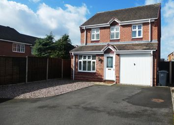 Thumbnail 3 bed detached house for sale in Amberlands, Stretton, Burton On Trent