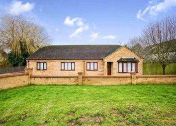 Thumbnail 3 bed detached bungalow for sale in Spencer Drove, Guyhirn, Wisbech