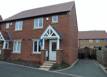 Thumbnail 2 bed semi-detached house for sale in Primrose Close, Shepshed, Loughborough