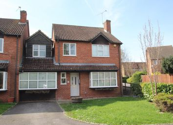Thumbnail 4 bed link-detached house for sale in Tarragon Way, Burghfield Common