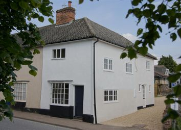 Thumbnail 3 bed end terrace house for sale in Ixworth, Bury St. Edmunds