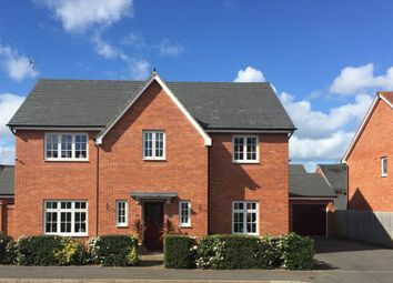 Thumbnail 4 bed detached house for sale in Newman Drive, Church Gresley