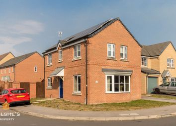 Thumbnail 4 bed detached house for sale in Brambling Way, Scunthorpe