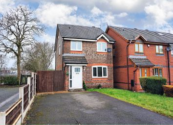 Thumbnail 3 bedroom detached house for sale in Ravenoak Drive, Manchester