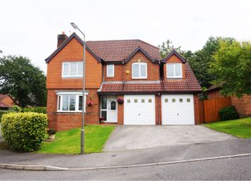 Thumbnail 5 bed detached house for sale in Clumber Close, Ashbourne