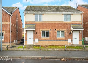 Thumbnail 2 bed semi-detached house for sale in Harland Court, St Helen Auckland, Bishop Auckland, Durham