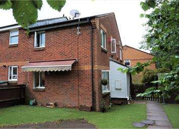Thumbnail 1 bed terraced house for sale in Petley Close, Flitwick