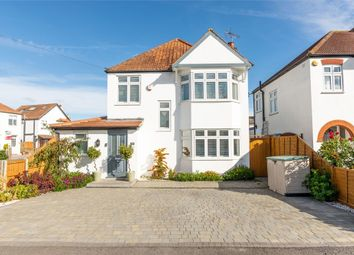 Thumbnail 3 bed detached house for sale in Brampton Gardens, Burwood Park, Hersham, Walton-On-Thames