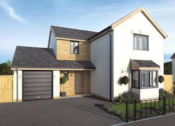 Thumbnail 4 bed detached house for sale in Strawberry Hill, Lympstone, Exmouth