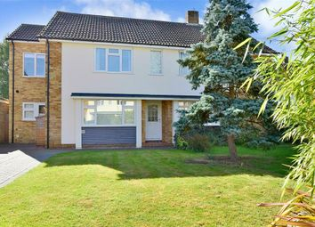 Thumbnail 3 bed semi-detached house for sale in Wealden Close, Hildenborough, Tonbridge, Kent