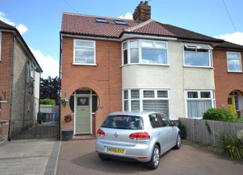 Thumbnail 4 bedroom semi-detached house for sale in Brunswick Road, Ipswich