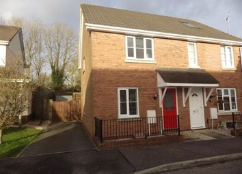 Thumbnail 2 bed semi-detached house to rent in Westcots Drive, Winkleigh