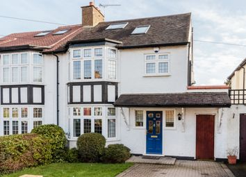 Thumbnail 4 bed semi-detached house for sale in Priory Road, Loughton, Essex