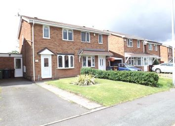 Thumbnail 2 bed semi-detached house for sale in Hawkswell Drive, Willenhall, West Midlands