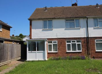 Thumbnail 2 bed flat for sale in Courtenay Road, Leicester