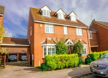 Thumbnail 5 bed link-detached house for sale in Sandstone Close, Calvert Green, Buckingham
