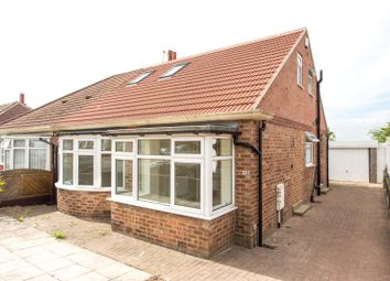 Thumbnail 3 bed semi-detached bungalow to rent in High Moor Crescent, Leeds, West Yorkshire