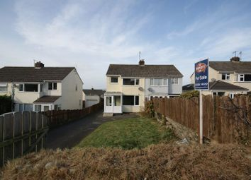 Thumbnail 3 bed semi-detached house for sale in St. Marys Road, Bodmin