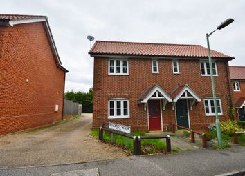 Thumbnail 2 bed terraced house to rent in St. Johns Road, Saxmundham