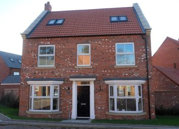 Thumbnail 5 bed detached house to rent in Low Medstone Drive, Easingwold, York