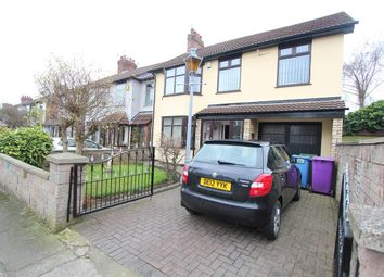 Thumbnail 4 bed detached house for sale in Arlescourt Road, West Derby, Liverpool