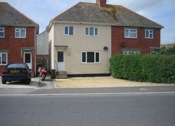 Thumbnail 3 bed semi-detached house to rent in Camp Road, Weymouth