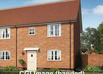 Thumbnail 2 bed semi-detached house for sale in The Heathers, St Michaels Way, Wenhaston